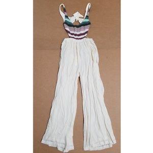 Mara Hoffman Crochet Tank Jumpsuit Women's Size XS